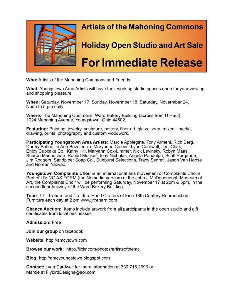 HOLIDAY OPEN STUDIO (2/2)